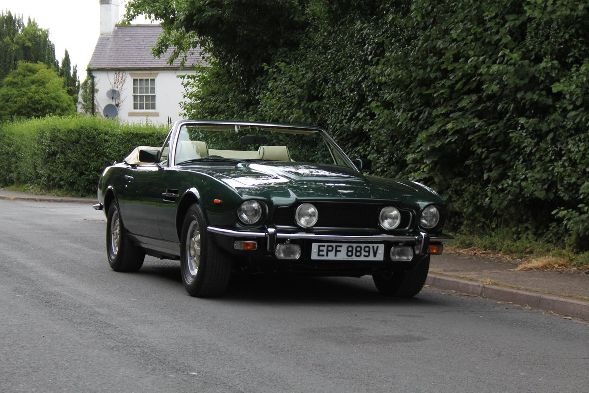 1979 Aston Martin V8 Oscar India Volante Ex Roger Taylor, Queen SOLD (picture 1 of 12)
