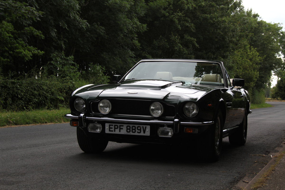 1979 Aston Martin V8 Oscar India Volante Ex Roger Taylor, Queen SOLD (picture 3 of 12)
