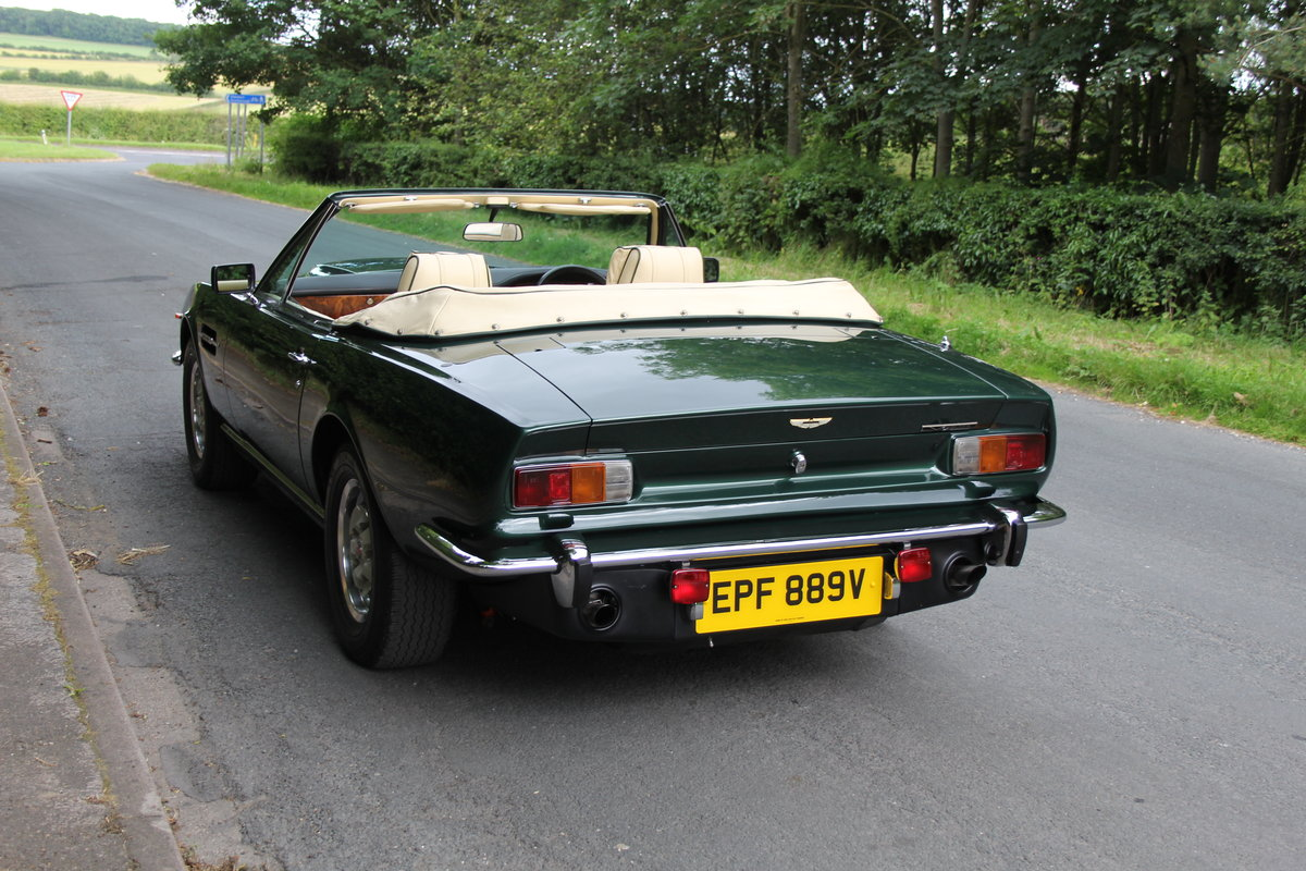 1979 Aston Martin V8 Oscar India Volante Ex Roger Taylor, Queen SOLD (picture 4 of 12)