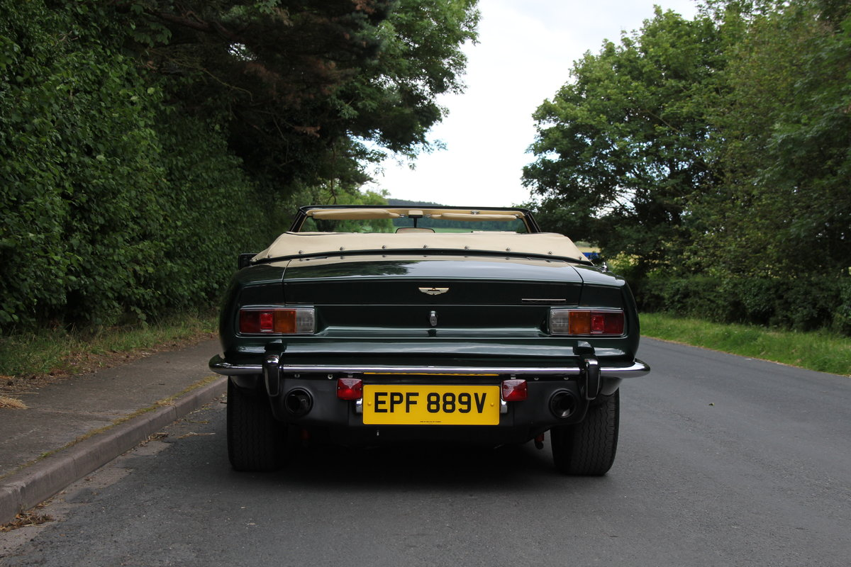 1979 Aston Martin V8 Oscar India Volante Ex Roger Taylor, Queen SOLD (picture 5 of 12)
