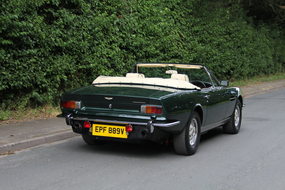 1979 Aston Martin V8 Oscar India Volante Ex Roger Taylor, Queen SOLD (picture 6 of 12)