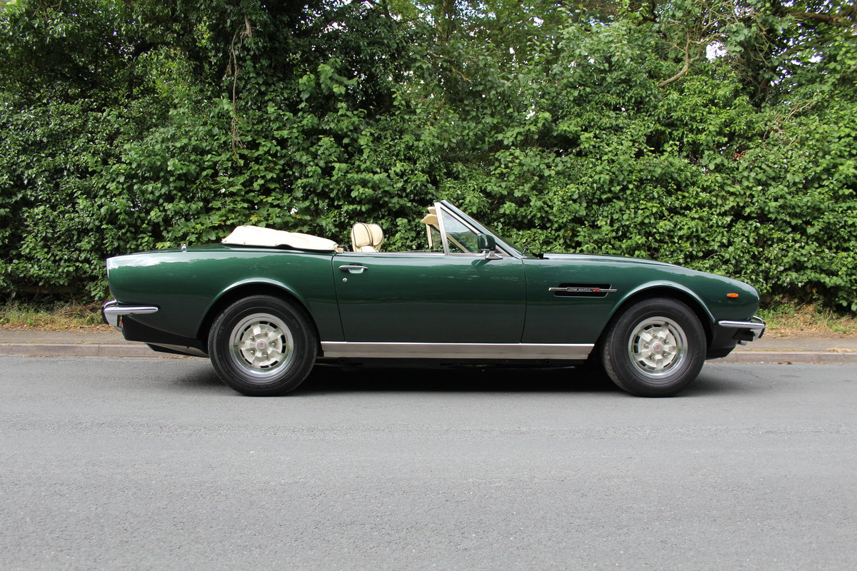 1979 Aston Martin V8 Oscar India Volante Ex Roger Taylor, Queen SOLD (picture 7 of 12)