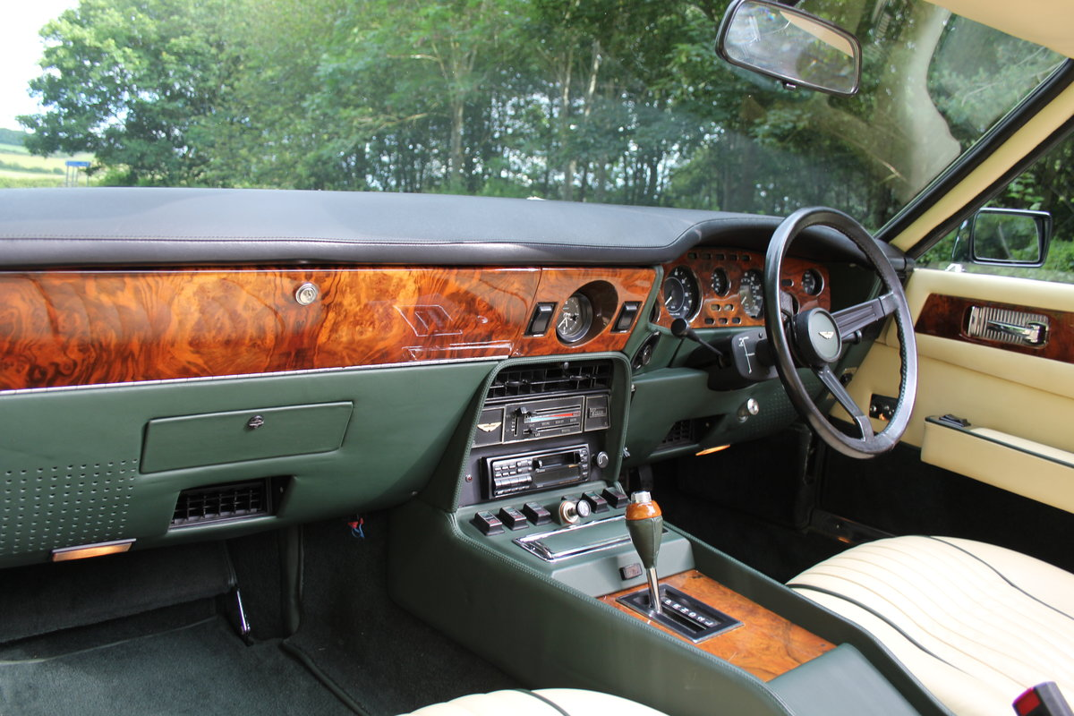 1979 Aston Martin V8 Oscar India Volante Ex Roger Taylor, Queen SOLD (picture 8 of 12)