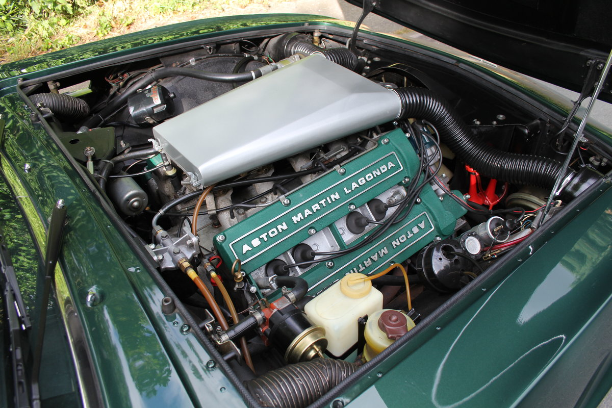 1979 Aston Martin V8 Oscar India Volante Ex Roger Taylor, Queen SOLD (picture 10 of 12)