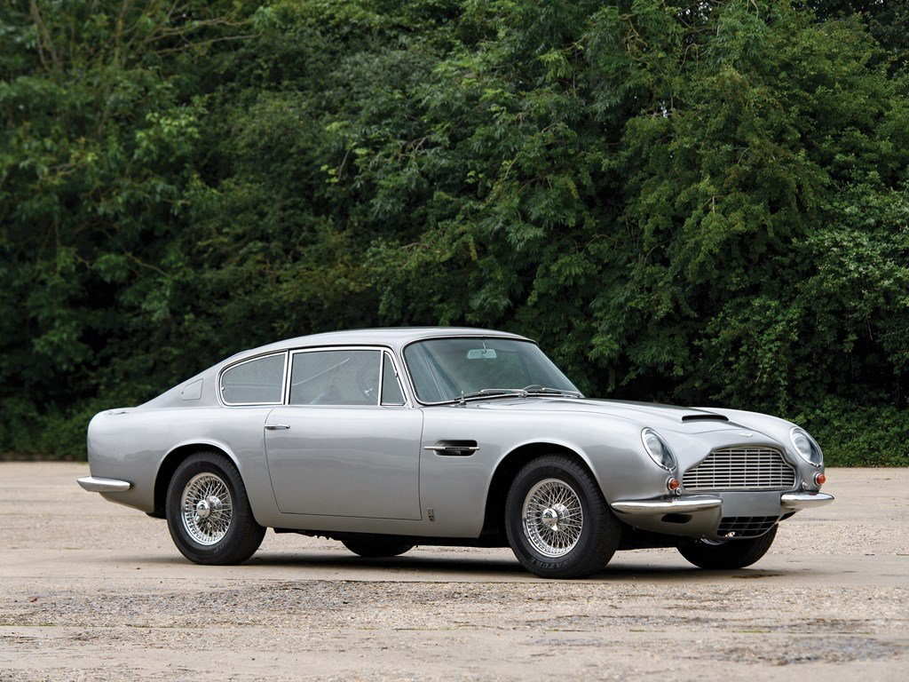 1969 Aston Martin DB6 Vantage Mk II For Sale by Auction (picture 1 of 6)