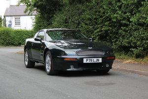 1996 Aston Martin V8 Coupe - 35k miles, £52k maintenance reciepts