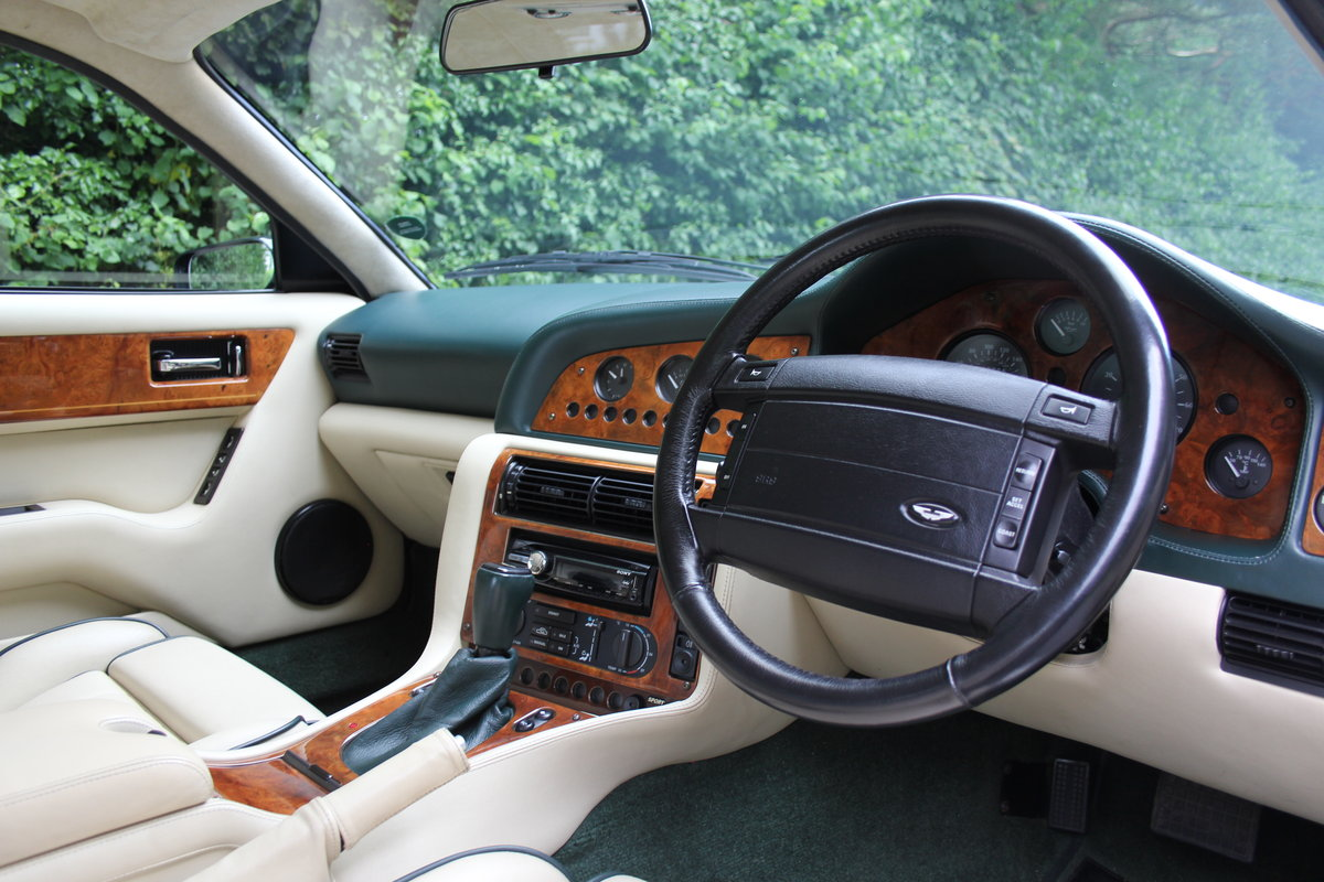 1996 Aston Martin V8 Coupe - 35k miles, £52k maintenance reciepts For Sale (picture 7 of 12)