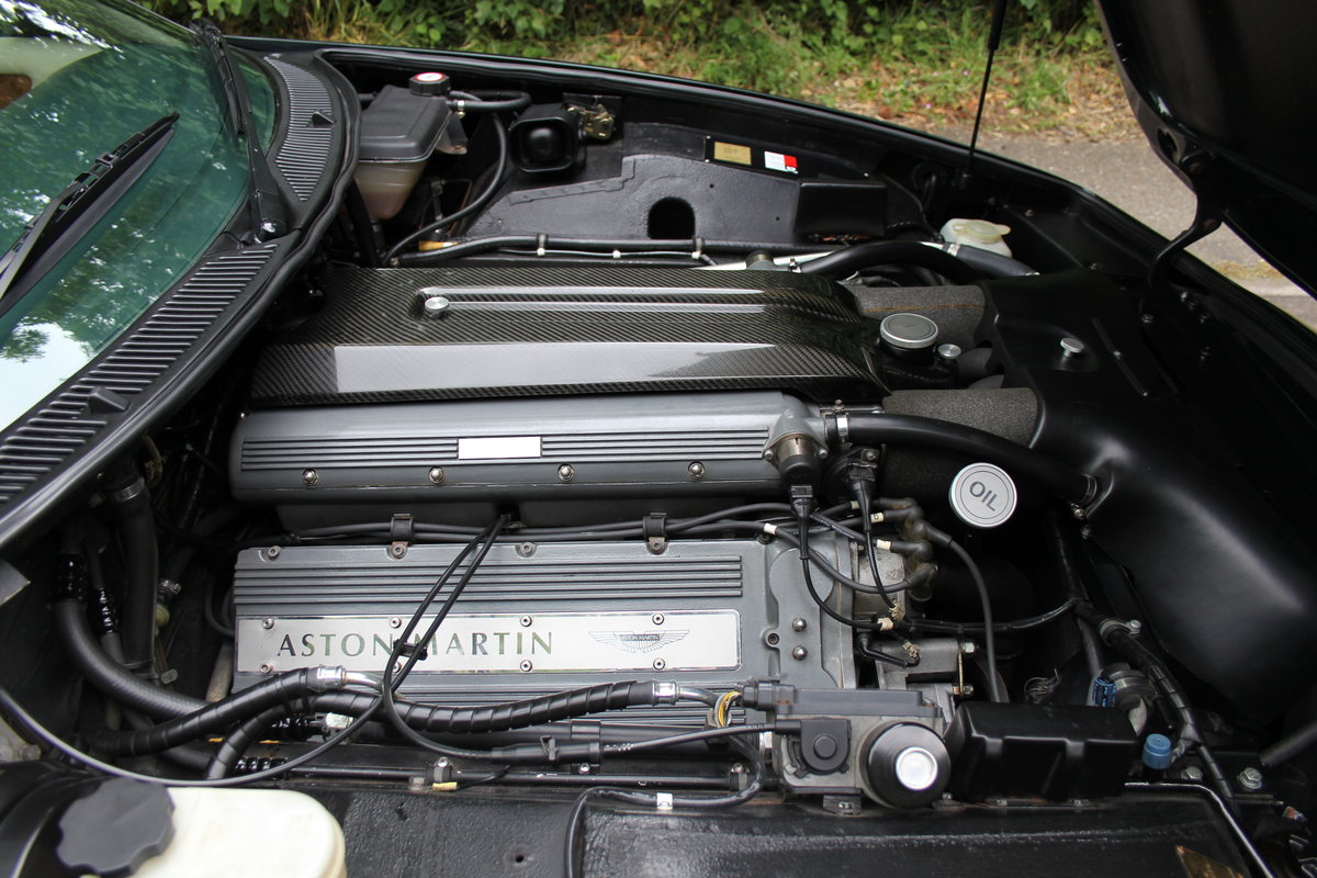 1996 Aston Martin V8 Coupe - 35k miles, £52k maintenance reciepts For Sale (picture 10 of 12)
