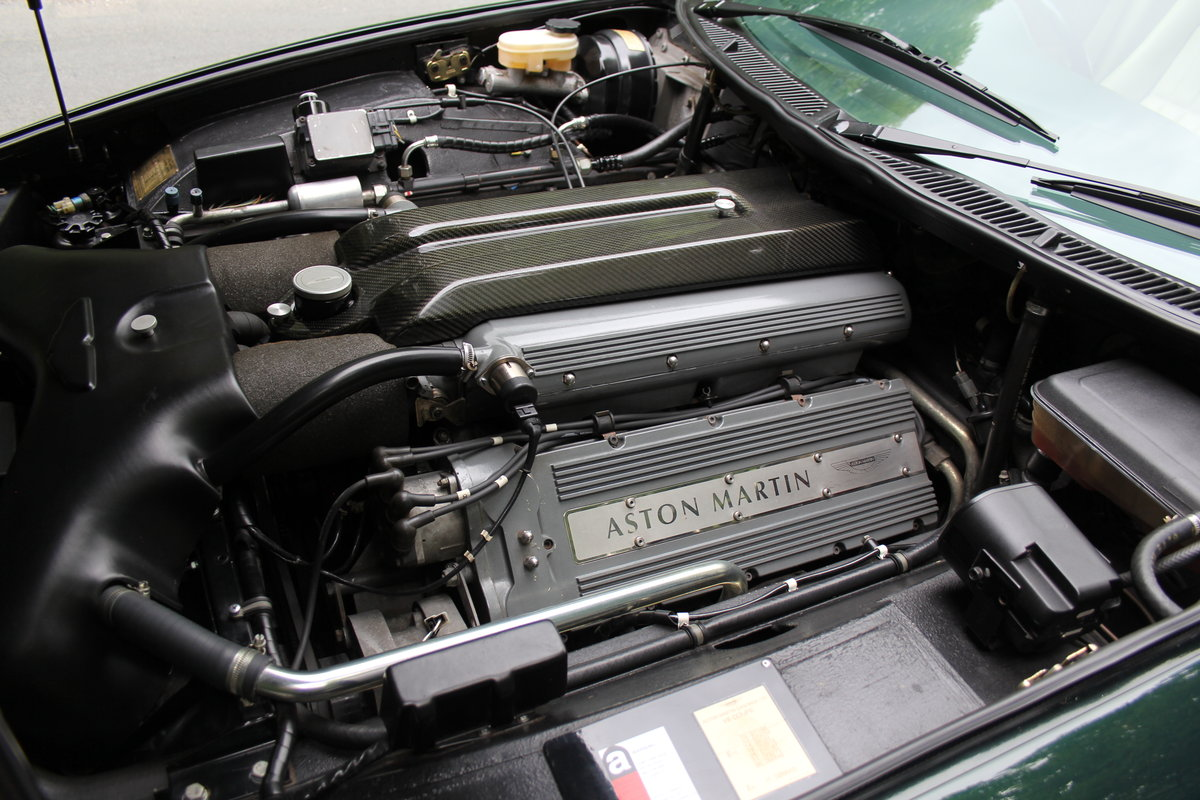 1996 Aston Martin V8 Coupe - 35k miles, £52k maintenance reciepts For Sale (picture 11 of 12)