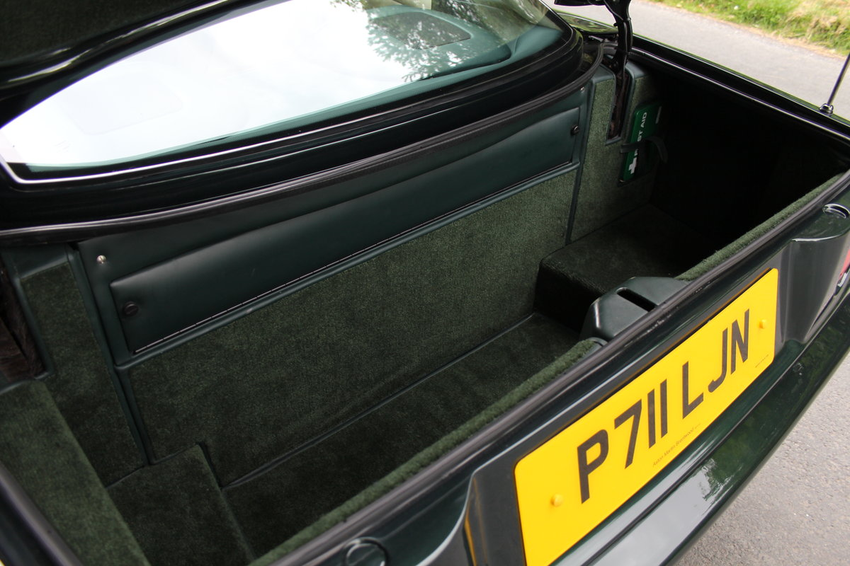 1996 Aston Martin V8 Coupe - 35k miles, £52k maintenance reciepts For Sale (picture 12 of 12)