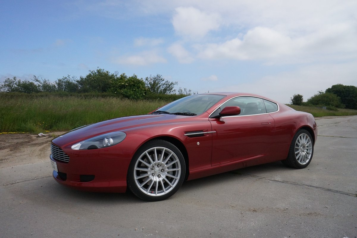 2008 Aston Martin DB9 SOLD by Auction (picture 1 of 6)
