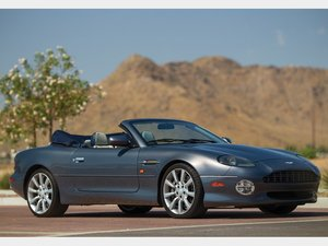 2003 Aston Martin DB7 Vantage Volante LA Auto Show  For Sale by Auction