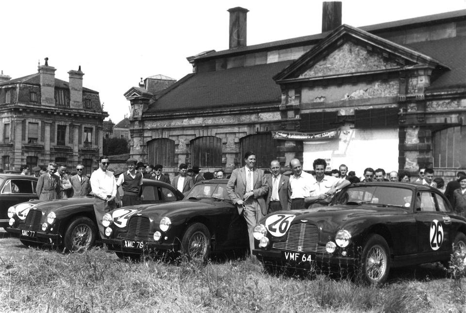 1951 Aston One off the 2 Team Cars Ex Mille miglia/Lemans For Sale (picture 1 of 6)