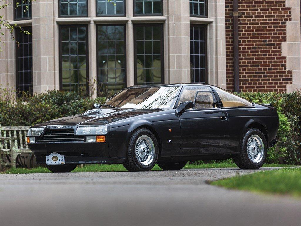 1987 Aston Martin V8 Vantage Zagato For Sale by Auction (picture 1 of 6)