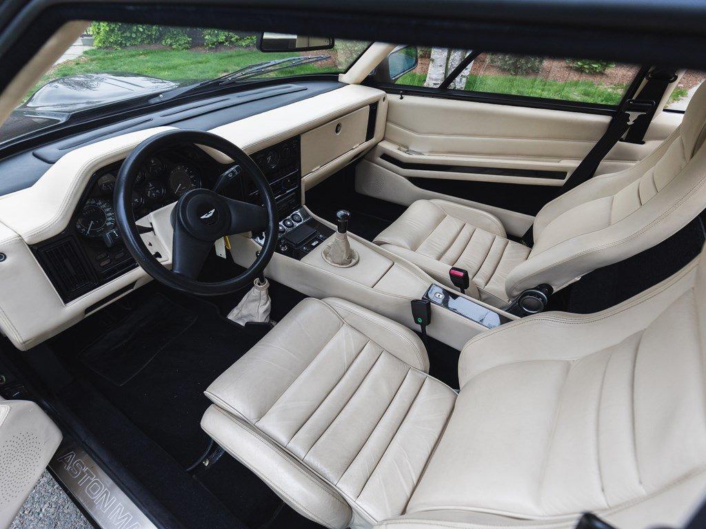1987 Aston Martin V8 Vantage Zagato For Sale by Auction (picture 4 of 6)