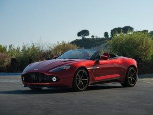 2018 Aston Martin Vanquish Zagato Volante Villa dEste  For Sale by Auction