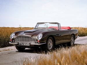 1966 Aston Martin Short-Chassis Volante  For Sale by Auction