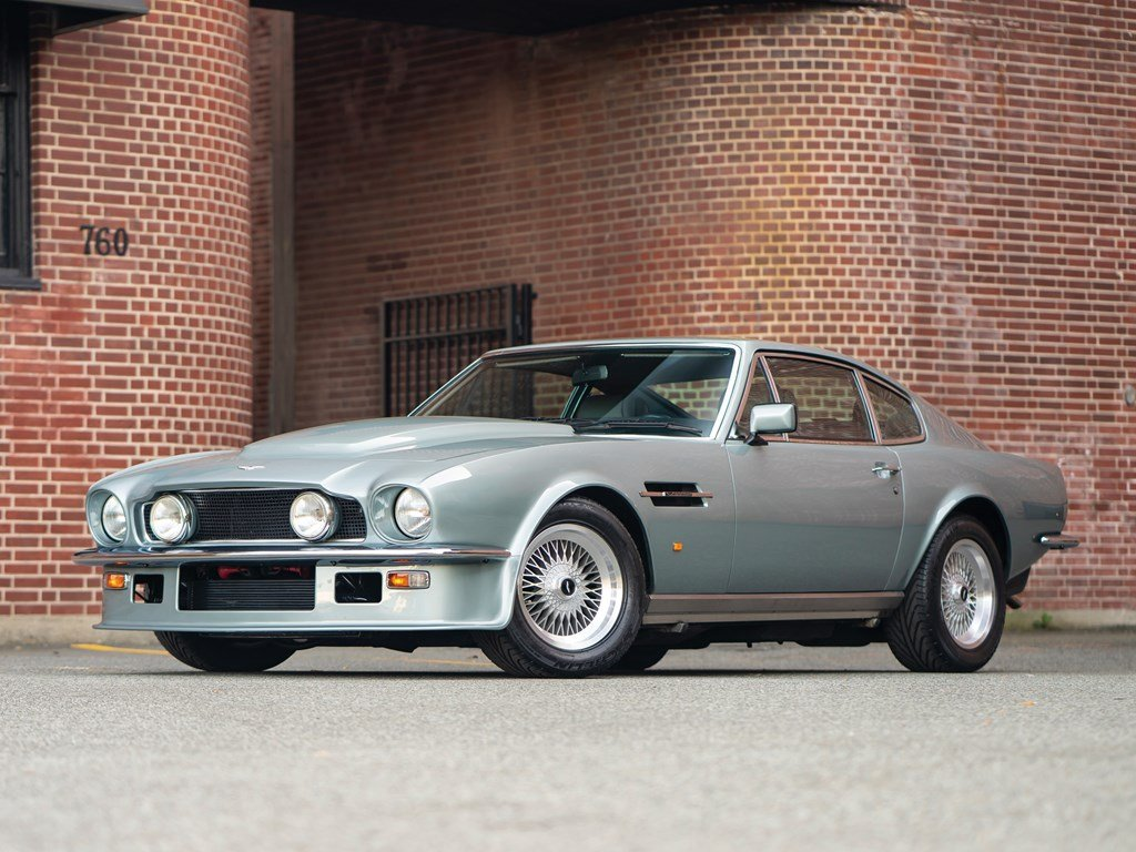 1989 Aston Martin Vantage  For Sale by Auction (picture 1 of 6)