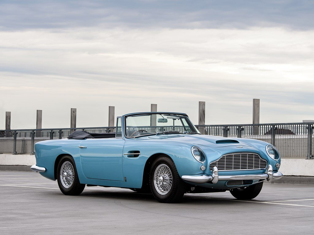 1963 Aston Martin DB5 Convertible  For Sale by Auction (picture 1 of 6)