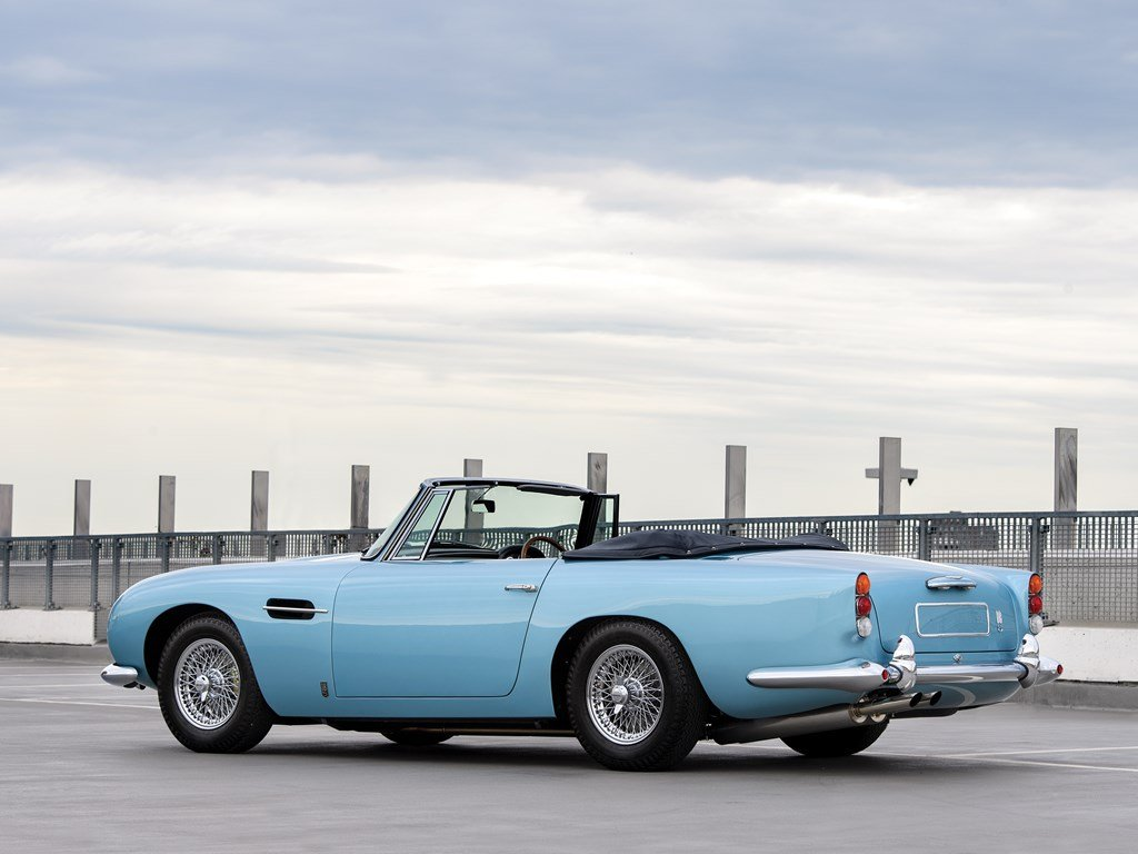 1963 Aston Martin DB5 Convertible  For Sale by Auction (picture 2 of 6)