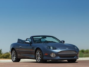 2003 Aston Martin DB7 Vantage Volante Anniversary Edition  For Sale by Auction