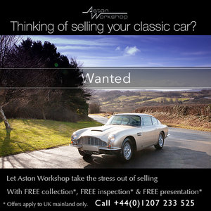 1965 DB2 DB4 DB5 DB6 *WANTED* Wanted