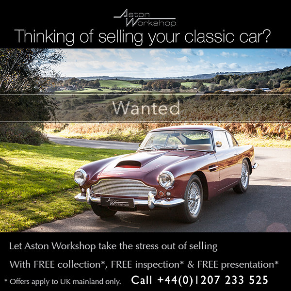 1960 All Aston Martins WANTED! Any condition, Dead or Alive! For Sale (picture 1 of 1)