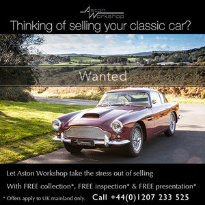 1960 All Aston Martins WANTED! Any condition, Dead or Alive!