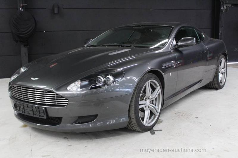 2007 ASTON MARTIN DB9 For Sale by Auction (picture 1 of 6)