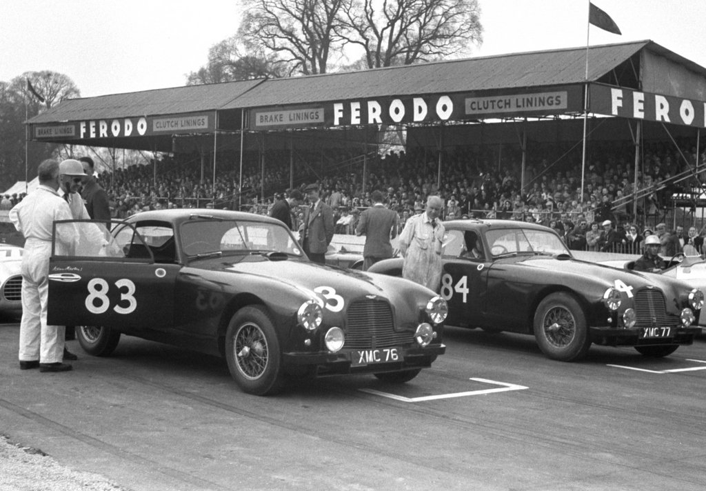 1951 Aston One off the 2 Team Cars Ex Mille miglia/Lemans For Sale (picture 5 of 6)