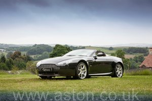 2007 Aston Martin V8 Vantage 4.3 Roadster Manual -New Clutch SOLD