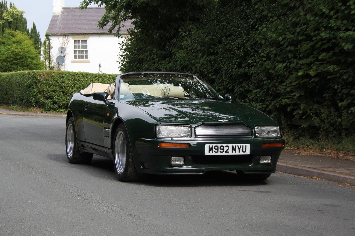 1995 Aston Martin Virage Volante Widebody - 23,750 miles For Sale (picture 1 of 12)
