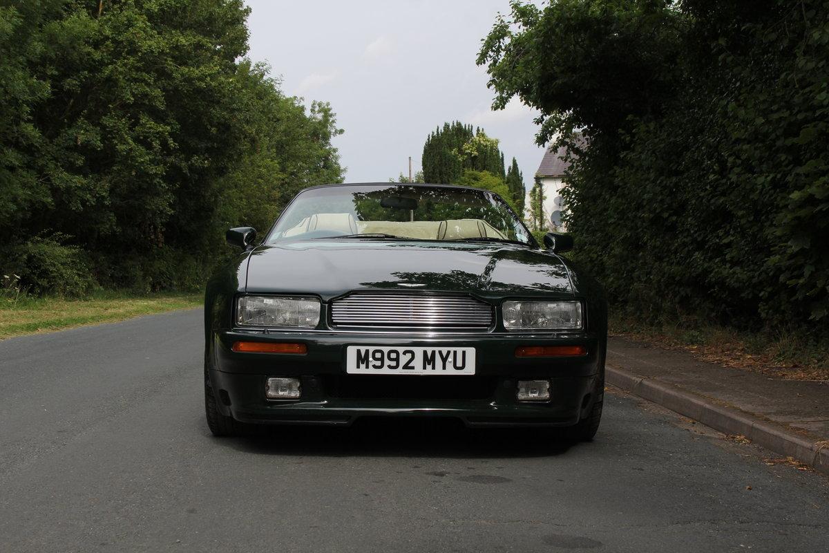 1995 Aston Martin Virage Volante Widebody - 23,750 miles For Sale (picture 2 of 12)