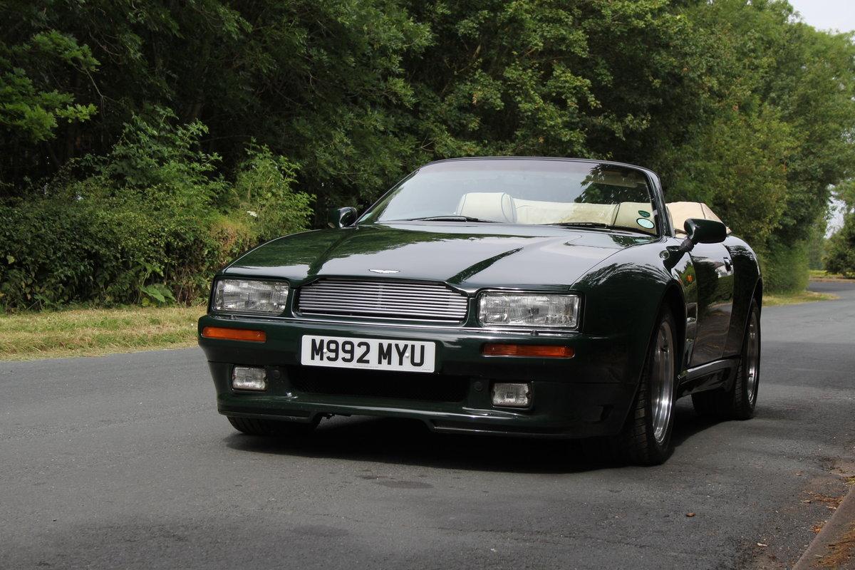 1995 Aston Martin Virage Volante Widebody - 23,750 miles For Sale (picture 3 of 12)