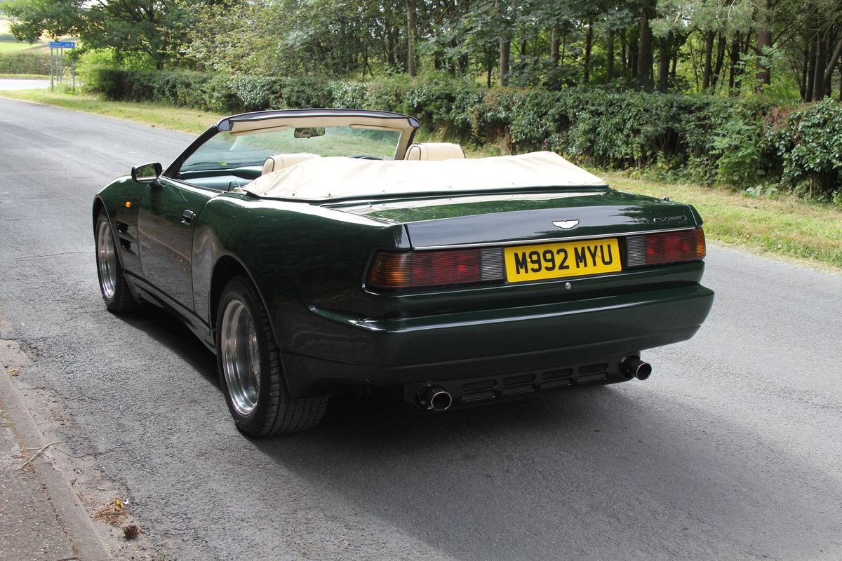 1995 Aston Martin Virage Volante Widebody - 23,750 miles For Sale (picture 4 of 12)