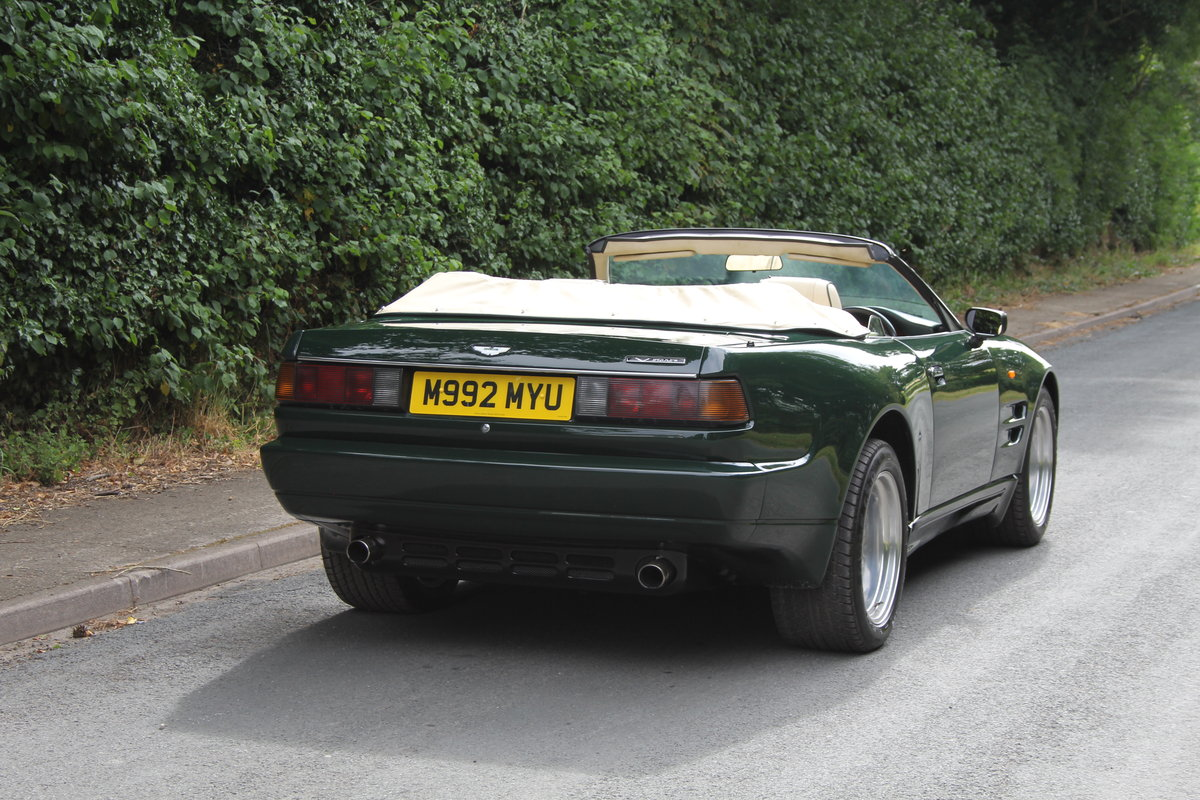 1995 Aston Martin Virage Volante Widebody - 23,750 miles For Sale (picture 5 of 12)