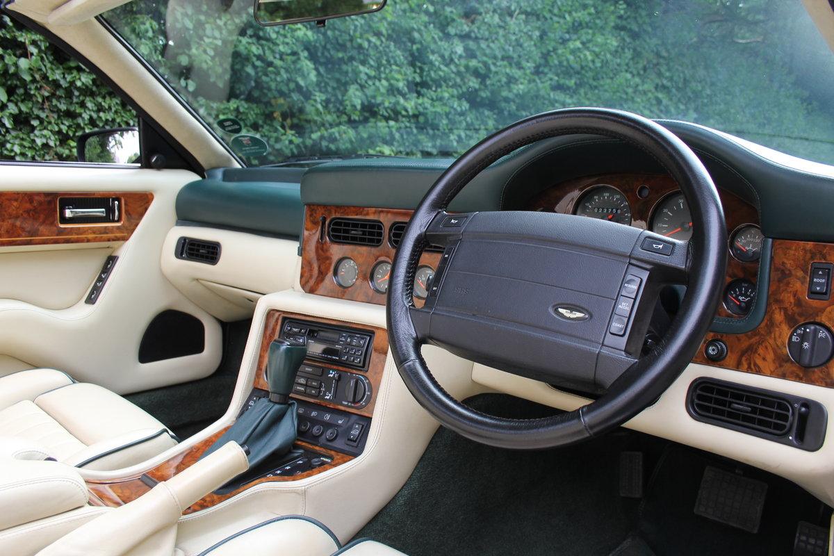 1995 Aston Martin Virage Volante Widebody - 23,750 miles For Sale (picture 6 of 12)