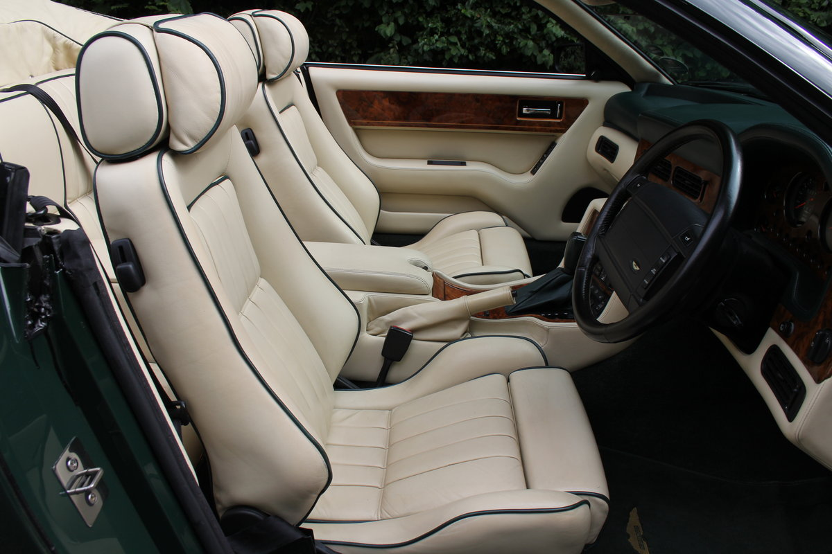 1995 Aston Martin Virage Volante Widebody - 23,750 miles For Sale (picture 7 of 12)