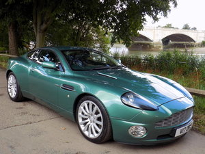 2002 Aston Martin V12 Vanquish - Factory Converted Manual Gearbox For Sale