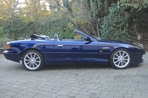 2001 Aston Martin DB7 V12 Vantage Volante For Sale