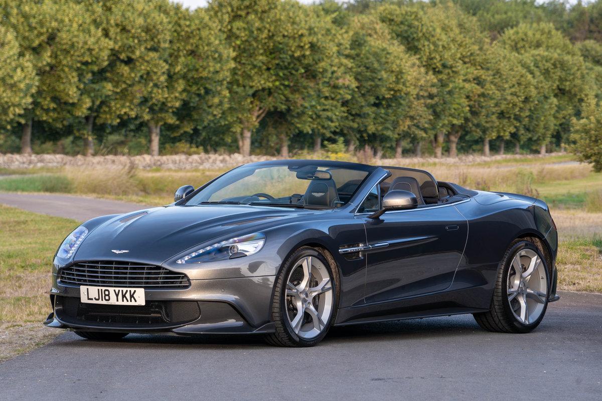 2018 Aston Martin Vanquish S Volante For Sale (picture 1 of 6)
