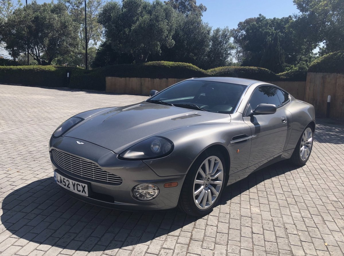 2003 AM VANQUISH 2+2 - FULL AM HISTORY FROM NEW For Sale (picture 6 of 6)
