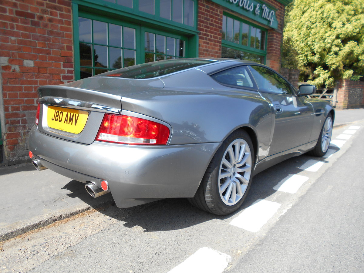 2003 Aston Martin Vanquish Coupe  For Sale (picture 3 of 6)
