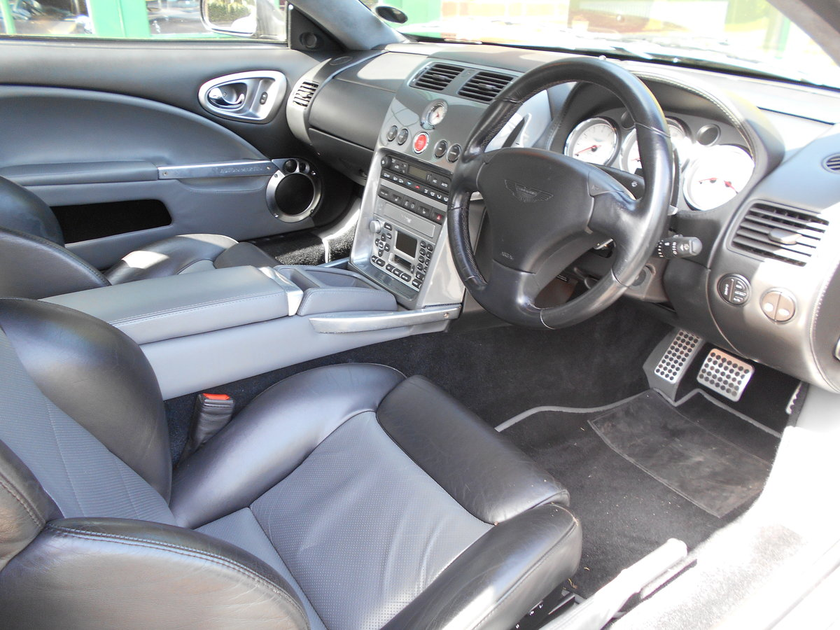 2003 Aston Martin Vanquish Coupe  For Sale (picture 4 of 6)