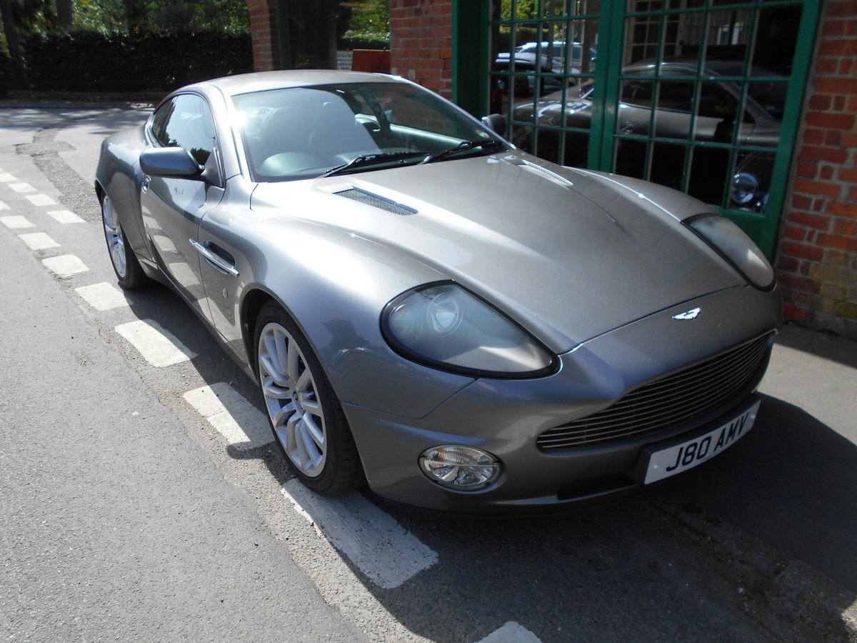 2003 Aston Martin Vanquish Coupe  For Sale (picture 5 of 6)