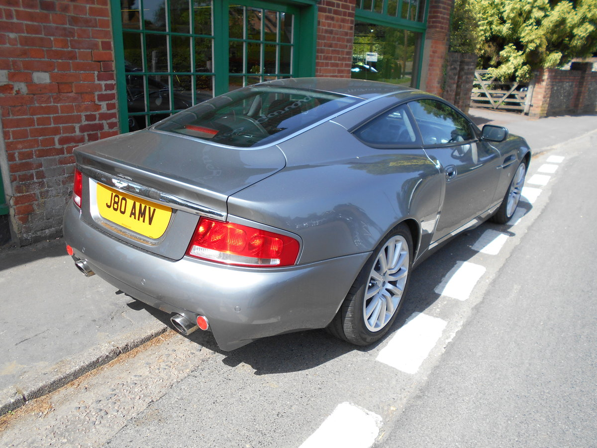 2003 Aston Martin Vanquish Coupe  For Sale (picture 6 of 6)