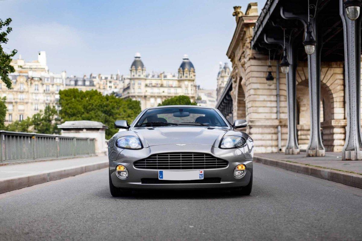 2005 Pierce Brosnan Aston Martin Vanquish S  For Sale (picture 2 of 6)