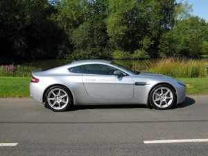 2006 Aston Martin V8 Vantage. Manual, only 30,000 miles