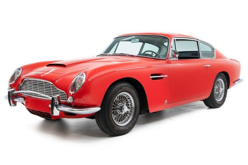 1967 Aston Martin DB6 = Correct LHD AC Red(~)Black driver $365k For Sale (picture 1 of 6)