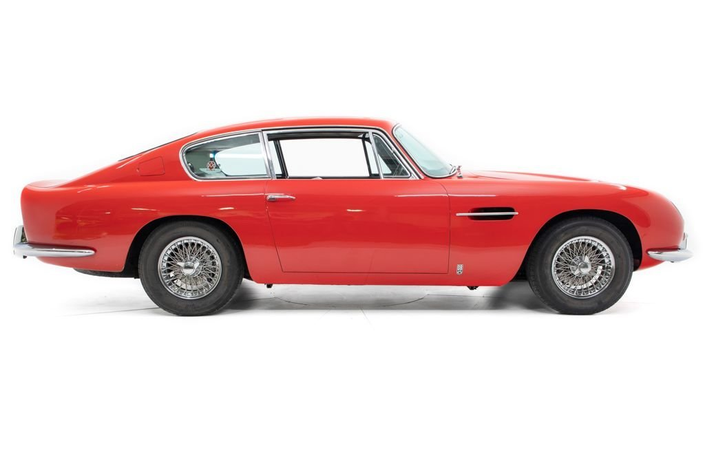 1967 Aston Martin DB6 = Correct LHD AC Red(~)Black driver $365k For Sale (picture 2 of 6)